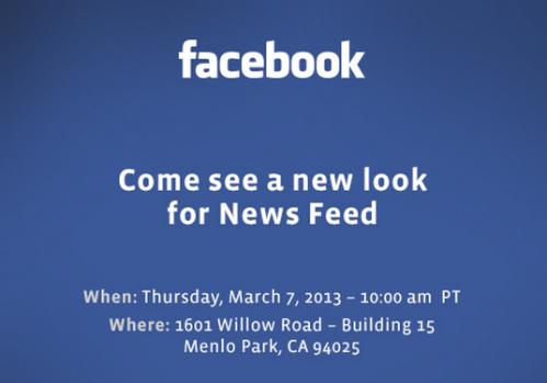#fb_ annunciato evento il 7.3.2013: cambio di timeline?